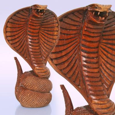 Змея из дерева